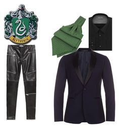 """""""Salazar Syltherin"""" by dee-lusk ❤ liked on Polyvore featuring Zara, Calvin Klein, Forzieri and Paul Smith"""