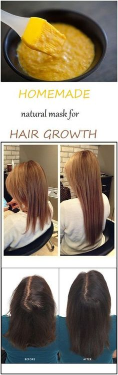 A long and strong hair represents not only the definition of beauty, but of a good health too. This mask stimulates hair growth and moisturizes and nourishes it. The only ingredients that you need are: an egg or the yolk of an egg, a banana, 1/2 cup of da