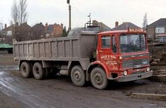 A sadly missed fleet by yours truly is that of Male & Son of Brierley Hill, who ran a very workmanlike fleet including this late model Mammoth Major. Vintage Trucks, Old Trucks, Classic Trucks, Classic Cars, Old Lorries, Dump Trucks, Commercial Vehicle, Heavy Equipment, Transportation