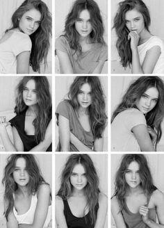 BW Model Posing Ideas - Here are a few options for #modeling headshots to consider. Фотография