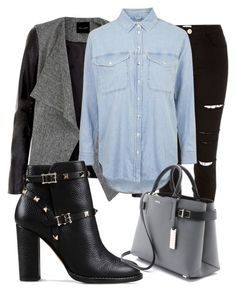 """""""Untitled #106"""" by iahast on Polyvore featuring River Island, Topshop, Valentino and Michael Kors"""