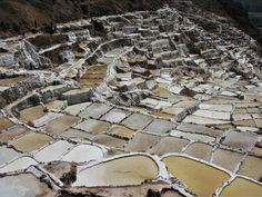 Salinas de Maras in the Sacred Valley, Peru