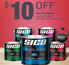 Canada Deal: Get $10 Off Sico Interior Paint!