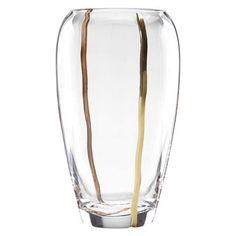 Mezza glass vase