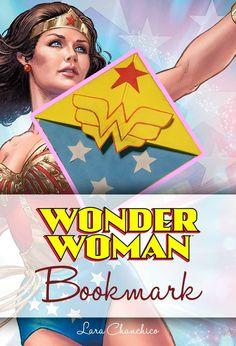 DIY - Wonderwoman Bookmark
