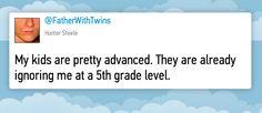 Parental tweets: on gifted kids