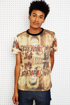 Underated Athens Sublimation Print Tee