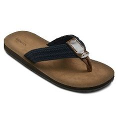 1559e30e0c9c Men s Merona® Remington Flip Flop Sandals - Navy XL(13). Get surprising  discounts up to 50% Off at Target with Coupons and Promo Codes.