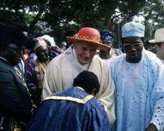 John Paul II to the Nigerian families