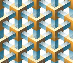 Buy Abstract Vector Seamless Pattern by on GraphicRiver. 3d Wall Painting, 3d Wall Art, Wooden Wall Art, 3d Pattern, Abstract Pattern, Geometric Coloring Pages, 3d Art Drawing, Isometric Drawing, Pattern And Decoration