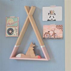 Ξύλινο ραφακι teepee ροζ Drupal, Open Source, Kids Furniture, Girl Nursery, Decoration, Kids Room, Cool Stuff, Frame, Graphic