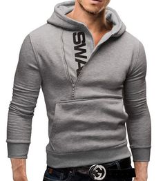 Introducing the SWAG zipper hoodie. It seems that in the past few years swag is getting quite popular among men from all over the world. Every man that is follo