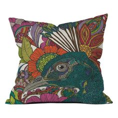 I pinned this Alexis And The Flowers Throw Pillow by Valentina Ramos from the Valentina Ramos event at Joss and Main!