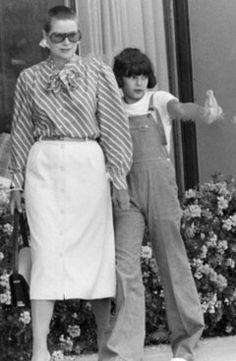 : Princess Grace with Princess  Stephanie 1975...