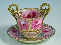Image result for Davenport Tea Cup and Saucer pink