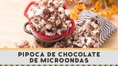 Pipoca de Chocolate de Microondas - Receitas de Minuto EXPRESS #153