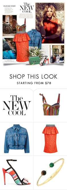 """The New Cool"" by thewondersoffashion ❤ liked on Polyvore featuring Prada, Rosie Assoulin, Dolce&Gabbana, Mary Katrantzou, Pierre Hardy and Cole Haan"