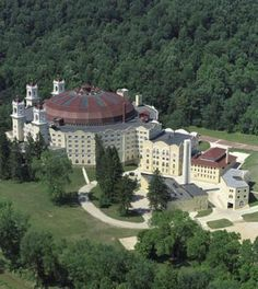 West Baden Springs Hotel at French Lick Resort--Heaven on earth tucked away in Southern Indiana.  I have been here and it's so cool!!!