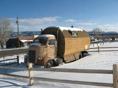 Old Dodge truck - Just how I felt going to work after too much food over the holidays!