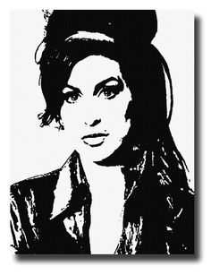 Art Painting, Winehouse, Psychedelic Drawings, Culture Art, Silhouette Art, Art Painting Acrylic, Art, Pop Art, Acrylic Painting Canvas