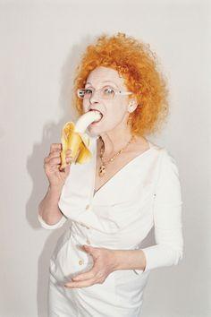 Vivienne Westwood photographed by Juergen Teller