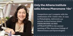 Athena Pheromone 10Xtm is the only formula backed by science, https://www.athenainstitute.com/menscorner/science/mc-choosing.html