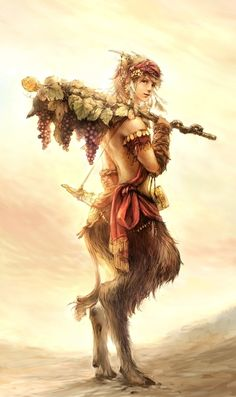 Faun | The faun is a rustic forest god or goddess  of Roman mythology often associated with enchanted woods and the Greek god Pan and his satyrs.