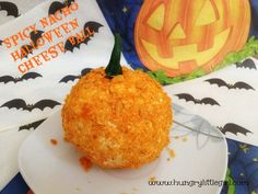 Spicy Nacho Halloween Cheese Ball Recipe