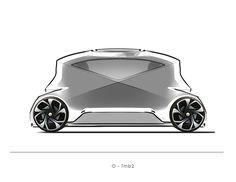 Zoox - City pod on Behance Car Chair, Arduino Projects, City Car, Futuristic Cars, Car Sketch, Small Cars, Transportation Design, Future Car, Alloy Wheel