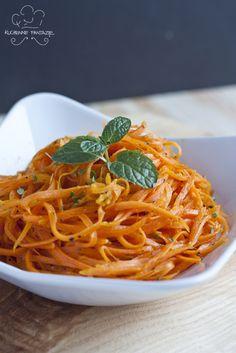 carrots, recipe, spaghetti, carrot, fried, fried, on warm