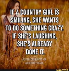I need to show this for my cousins! It will help them out a lot in life kno. Es wird ihnen viel im Leben Real Country Girls, Country Girl Life, Country Girl Quotes, Cute N Country, Country Sayings, Country Girl Stuff, Redneck Girl Quotes, Farm Girl Quotes, Country Living