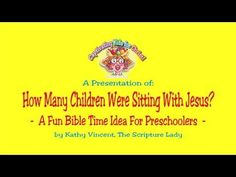 Here is a fun Bible time idea: How many Children were Sitting with Jesus?-Teaching Preschoolers About Jesus Teaching preschoolers about Jesus is essential. There is so much for them to learn. For example, how many shepherds visited baby Jesus in Bethlehem?  How many jars of water did Jesus turn into wine?  How many lepers thanked Jesus for healing them?  Preschoolers are learning their numbers and counting is a life-long skill they are learning now. Preschool Bible Lessons, Bible Activities, Jesus Teachings, How Many Kids, Baby Jesus, Bethlehem, Sunday School, Cool Words, Counting