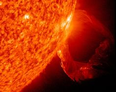 Solar Loop  Image courtesy SDO/NASA    When a loop of plasma erupted from the sun in March, NASA's Solar Dynamics Observatory spacecraft was there to capture the action.