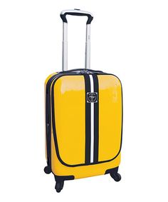 Take a look at this Ford Yellow 20'' Expandable Wheeled Carry-On by Travelers Club Luggage on #zulily today!