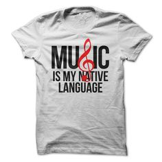 Perfect for lovers of music! Does music move you? Do you speak music? Does music speak to you? Some folks believe that music is a universal language! We do too!