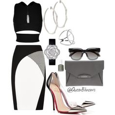 """""""@Queen B Enterprises"""" by bambimontgomery on Polyvore"""