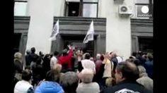 Activistas prorrusos ocupan la sede del Gobierno en Lugansk