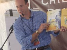 """Shark vs. Train author Chris Barton reads from his book."""