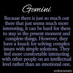 Facts About Gemini | what shy dreams hide in the rafters of my heart