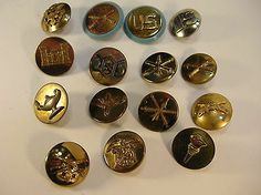 Mixed Lot of 15 Military Lapel Pins | eBay