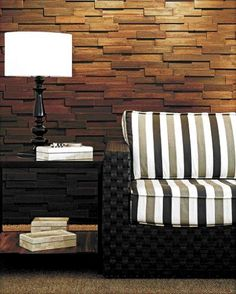 Roberto Rocha: mosaico de madeira