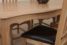All of our dining chairs are solid hardwood and use the highest quality of materials, including leather and lush fabrics. Solid Oak Dining Table, Dining Bench, Dining Chairs, Dining Room, Solid Oak Furniture, Oak Furniture Land, Hardwood, Range, Home Decor