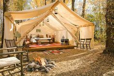 Outdoor Spaces & Glamping