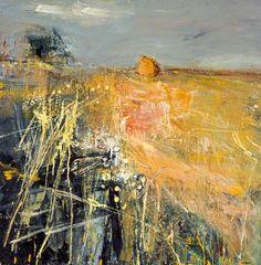 ☼ Painterly Landscape Escape ☼ landscape painting by Joan Eardley | Summer Fields