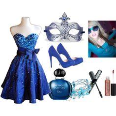 Masquerade Ball outfit   Claira Masquerade Ball Outfit- HA