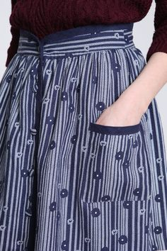 Skirts should have pockets!  Use scraps from alterations.