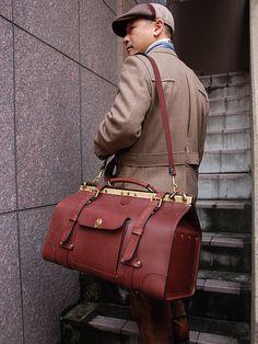 Gladstone Bag(グラッドストン・バッグ) LL肩掛け