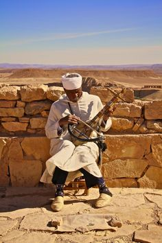 Berber Instrument in Morocco