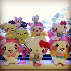 Sweet Sanrio expressions!(≧∇≦)