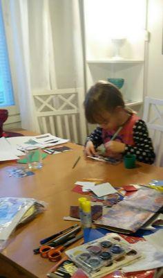 RunoMaalari: Lasten joulukorttipaja